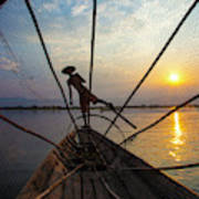 Myanmar, Inle Lake Art Print