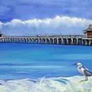 Naples Pier Naples Florida Art Print
