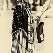 Native American Pow Wow In Montana Art Print