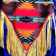 Native American Shawl  Art Print