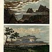 Natural History Of The Clouds Art Print