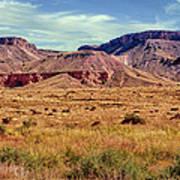 Navajo Nation Series Along 87 And 15 Art Print