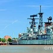 Naval Park And Museum Art Print