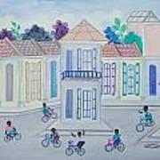 Neighborhood School Art Print