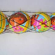 Net Balls Art Print