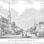New Jersey Newark, 1844 Art Print