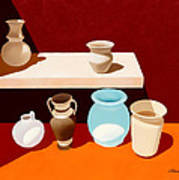 New Pottery Art Print
