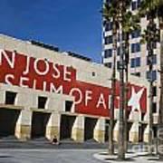 New Wing Of The San Jose Museum Of Art Art Print