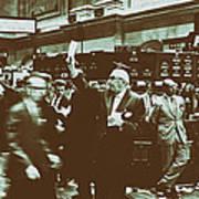 New York Stock Exchange 1963 Art Print