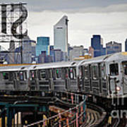 New York Train Art Print