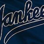 New York Yankees Derek Jeter Art Print