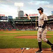 New York Yankees V Boston Red Sox 1 Art Print