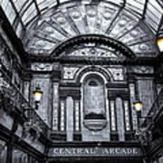 Newcastle Central Arcade Art Print