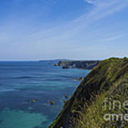 Photographs Of Cornwall North Coast Cornwall Art Print
