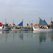 North Sea Fishing Art Print