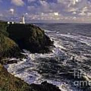 Northhead Ilwaco Lighthouse Art Print