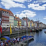 Nyhavn - Copenhagen Denmark Art Print