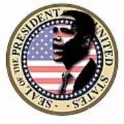 Obama-1 Art Print