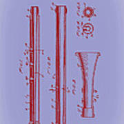 Oboe Patent 1931 Art Print