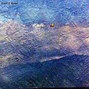 Ocean As A Painting Art Print