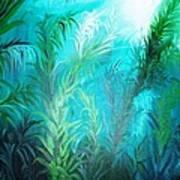 Ocean Plants Art Print