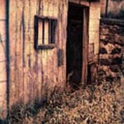 Old Barn Door Art Print