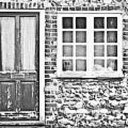 Old Cottage Art Print