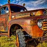 Old Ford Art Print