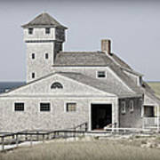 Old Harbor Lifesaving Station -- Cape Cod Art Print