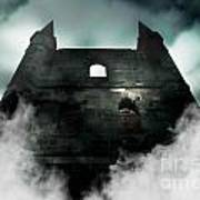 Old Haunted Castle Art Print