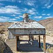 Old Mine On Old Toll Road In Death Valley Art Print