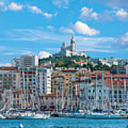 Old Port Of Marseille Art Print