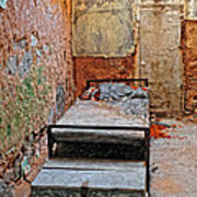 Old Prison Cell Art Print