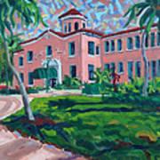 Old School at Delray Art Print