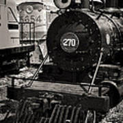 Old Steam Lock  Art Print