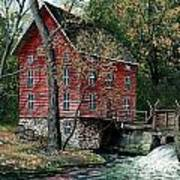 Old Time Mill Art Print