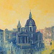 Old Warsaw  Art Print