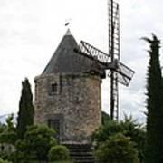 Old Provencal Windmill Art Print