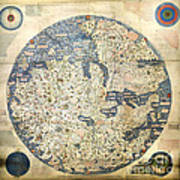 Old World Vintage Map Art Print