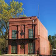 Oldest Masonic Lodge In California Art Print
