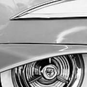 Oldsmobile 98 Wheel Emblem Art Print