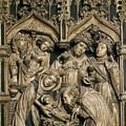 Oller, Pere 15th Century. Altarpiece Art Print