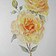 One Rose Or Two Art Print
