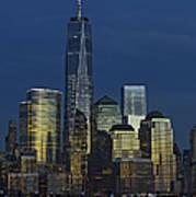 One World Trade Center At Twilight Art Print