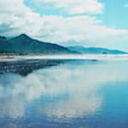 Oregon Coastline At Cannon Beach Art Print