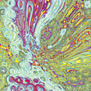 Organic Optical Illusion 2 Art Print by The Art of Marsha Charlebois