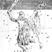 Orion Constellation Art Print