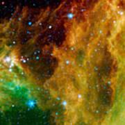 Orion-nebula Art Print