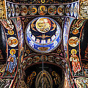 Orthodox Church Interior Art Print by Elena Elisseeva