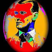 Outlaw Gang Leader Train Bank Robber Murderer Jesse James Collage 1875-2009 Art Print